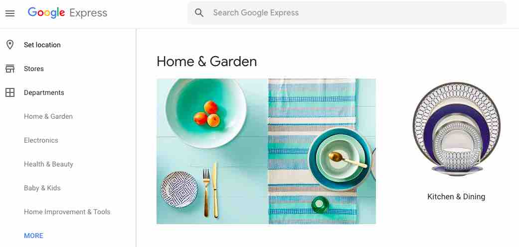 Google-Express-Home-Screen